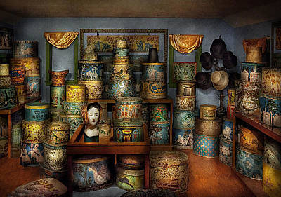 Mad Hatter Photograph - Collector - Hats - The Hat Room by Mike Savad