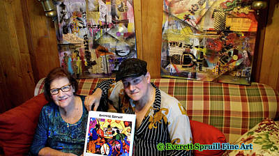 Photograph - Collectors Of Art by Everett Spruill