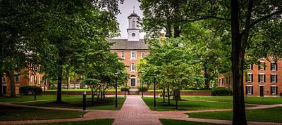 Ou. Ohio University Photograph - Ohio University College Green by Robert Powell
