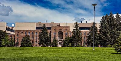 Photograph - College Of Architecture - University Of Wyoming by L O C