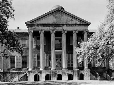 Photograph - College Of Charleston 1900s by L O C