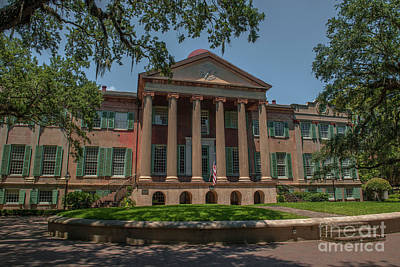 Photograph - College Of Charleston Landmark by Dale Powell