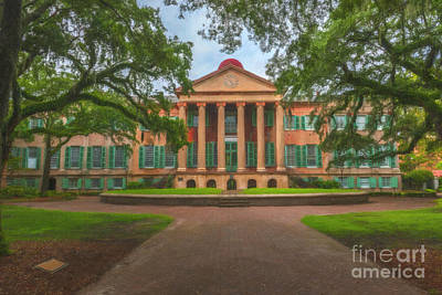 Photograph - College Of Charleston Main Academic Building by Dale Powell