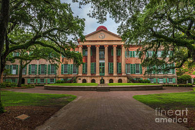 Photograph - College Of Charleston Randolph Hall In Charleston Sc by Dale Powell