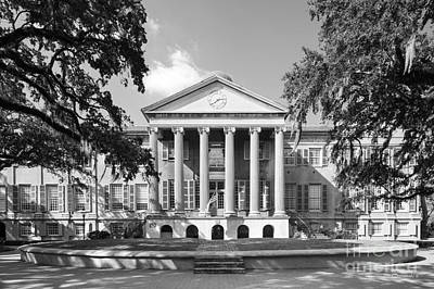 Photograph - College Of Charleston Randolph Hall by University Icons