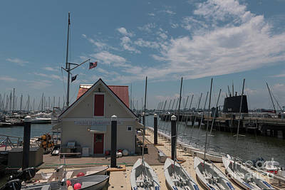 Photograph - College Of Charleston Sailing Class Room by Dale Powell