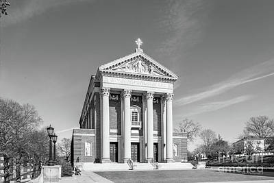 Special Occasion Photograph - College Of The Holy Cross St. Joseph Memorial Chapel by University Icons