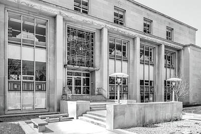 Photograph - College Of Wooster Andrews Library by University Icons