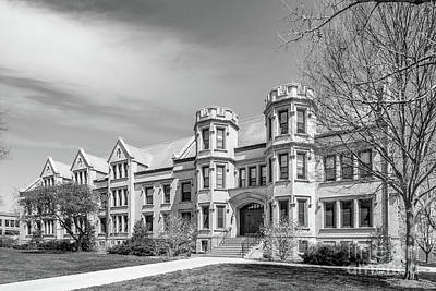 Photograph - College Of Wooster Holden Hall by University Icons