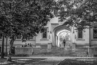 College Of Wooster Kauke Arch Print by University Icons