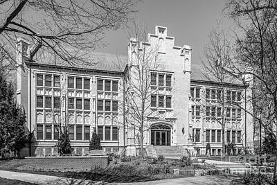 Photograph - College Of Wooster Ebert Art Center by University Icons