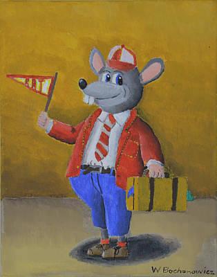 College Rat Original by Winton Bochanowicz