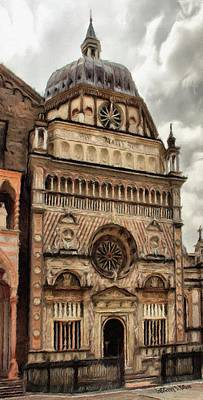 Colleoni Chapel Print by Jeff Kolker