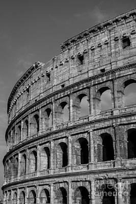 Colliseum Photograph - Colleseum Rome Italy by Edward Fielding