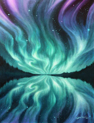 Painting - Light Dance by Lucy West