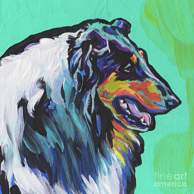 Painting - Collie Collie by Lea