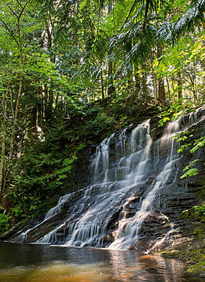 Photograph - Colliery Falls by Randy Hall