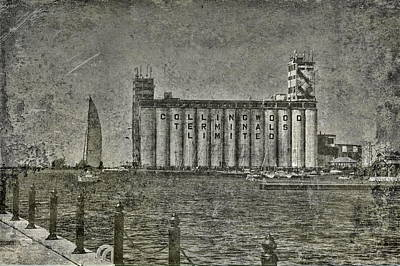 Photograph - Collingwood Harbor And Terminal Building by Andrea Kollo