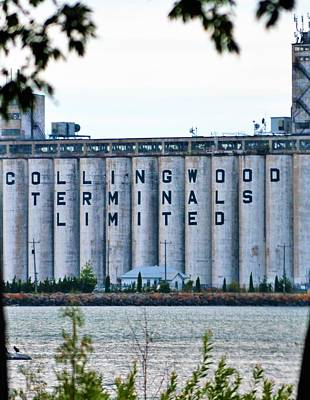 Photograph - Collingwood Terminals Unlimited by Tamara Michael