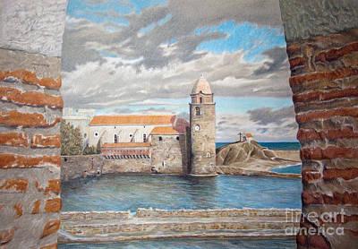 Collioure Painting - Collioure by Svetlana Ledneva-Schukina