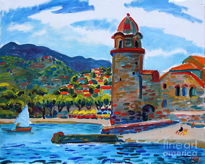 Painting - Collioure by Vladimir Kozma
