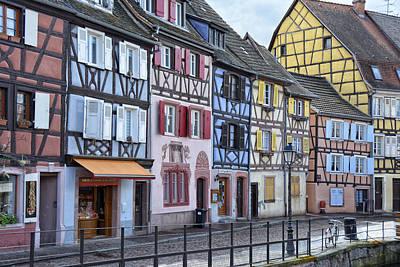 Alsace Photograph - Colmar Petit Venise by Joachim G Pinkawa