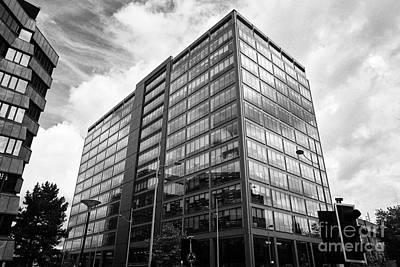 colmore plaza office development in new financial area of Birmingham UK Art Print by Joe Fox