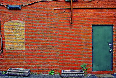 Photograph - Coloful Old Brick Building by Anthony Dezenzio
