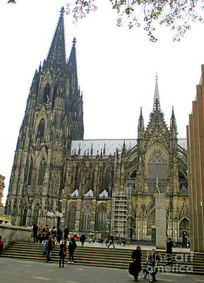 Photograph - Cologne Cathedral 1 by Randall Weidner