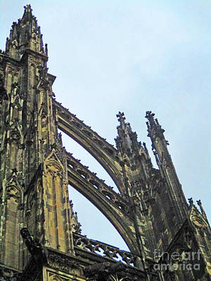 Photograph - Cologne Cathedral 10 by Randall Weidner