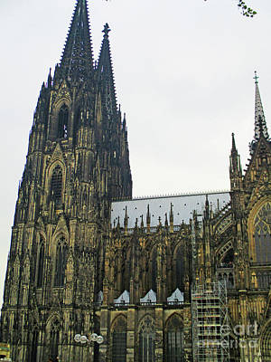 Photograph - Cologne Cathedral 2 by Randall Weidner