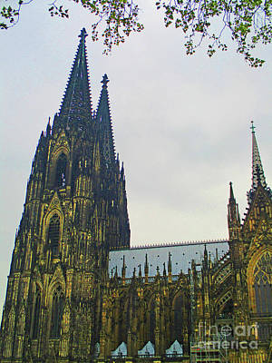 Photograph - Cologne Cathedral 3 by Randall Weidner