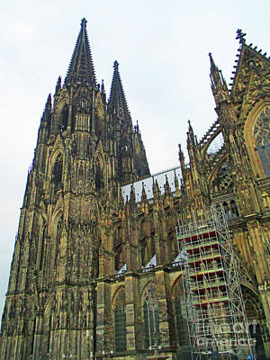 Photograph - Cologne Cathedral 6 by Randall Weidner