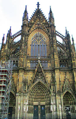 Photograph - Cologne Cathedral 7 by Randall Weidner