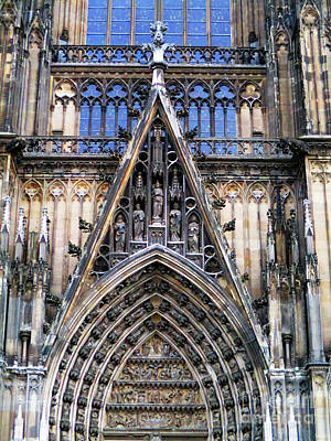 Photograph - Cologne Cathedral 8 by Randall Weidner