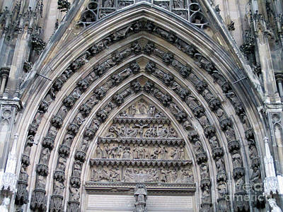 Photograph - Cologne Cathedral 9 by Randall Weidner