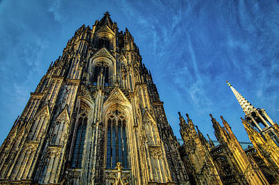 Photograph - Cologne Cathedral Afternoon by Ross Henton