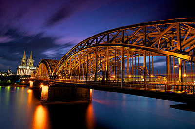 Y120817 Photograph - Cologne Cathedral by Andre Distel Photography