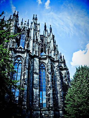 Photograph - Cologne Cathedral  by Venura Herath