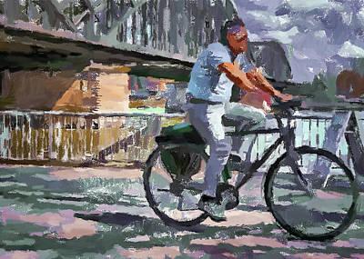 Digital Art - Cologne Color Street 7 by Yury Malkov