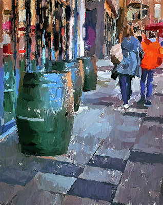 Digital Art - Cologne Color Street 8 by Yury Malkov