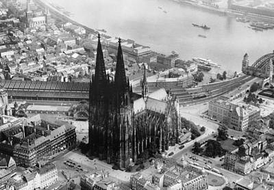 Cologne, Germany, The Cologne Cathedral Art Print by Everett
