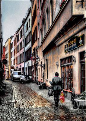 Cologne Alstadt Art Print by Jim Hill