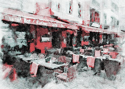 Digital Art - Cologne Watercolors 3 by Yury Malkov