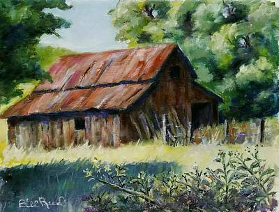 Painting - Coloma Barn by William Reed