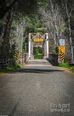 Photograph - Coloma Bridge by Mitch Shindelbower