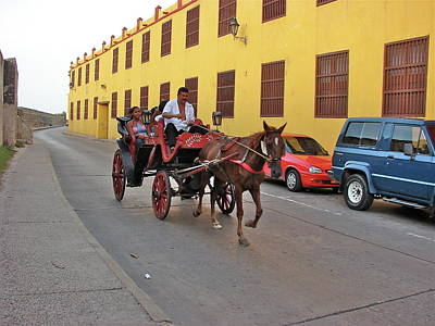 Photograph - Colombia Carriage by Brett Winn