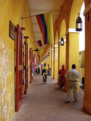 Photograph - Colombia Walkway by Brett Winn
