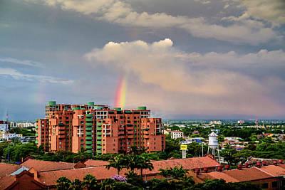 Photograph - Colombian Rainbow by Randy Scherkenbach