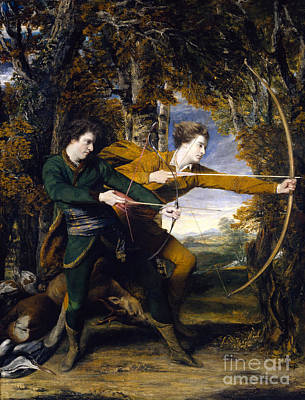Colonel Acland And Lord Sidney Archers Print by Celestial Images